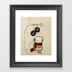Music Tree Framed Art Print