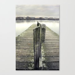 Wastin' Time Canvas Print