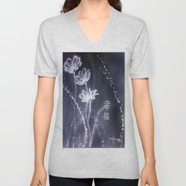 Nature's galaxy Unisex V-Neck