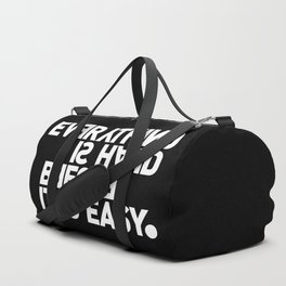 JOHANN WOLFGANG VON GOETHE Duffle Bag