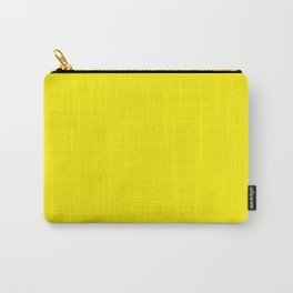 Canary Yellow Carry-All Pouch