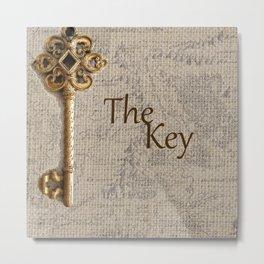 Fantasy Land: The Key Metal Print