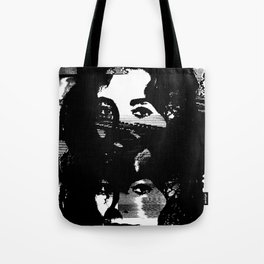 Static Liz Taylor Tote Bag