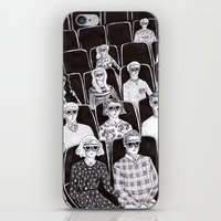 movies iPhone & iPod Skins featuring The movies by Margarida Esteves