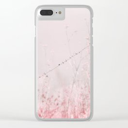 Birds on a wire II Clear iPhone Case