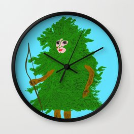 Forest Magic Wall Clock