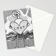 lost alien Stationery Cards