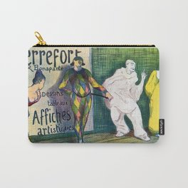 Pierrefort art gallery clowns Carry-All Pouch