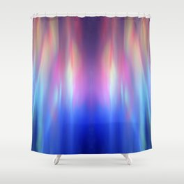 Heavenly lights in water of Life-3 Shower Curtain