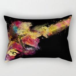guitar art 8 #guitar #art #music Rectangular Pillow