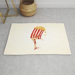 Popcorn Girl Rug