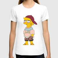 simpson T-shirts featuring chic lisa simpson by Sara Eshak