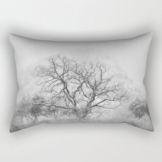 """""""King Mountain"""" Monochrome. Rectangular Pillow"""