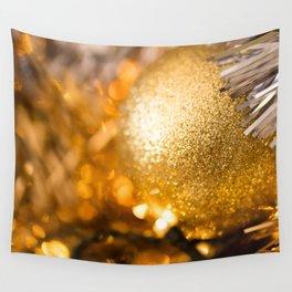 Golden Cheer III Wall Tapestry
