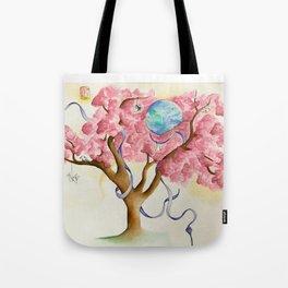 Peace Treety Tote Bag