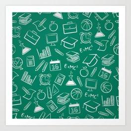 School chemical #7 Art Print
