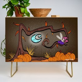 2-25-19 THE SEASONS: Fall Credenza