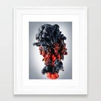 black widow Framed Art Prints featuring Black Widow by Harold Urquiola