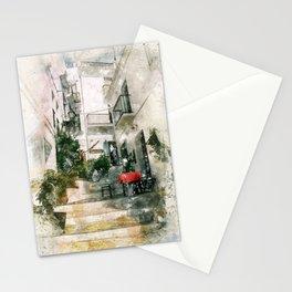 La mesa roja, Frigliana Stationery Cards