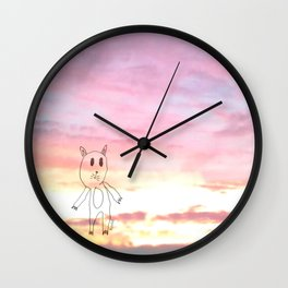 #LOVECAT - Shifty Catter  Wall Clock