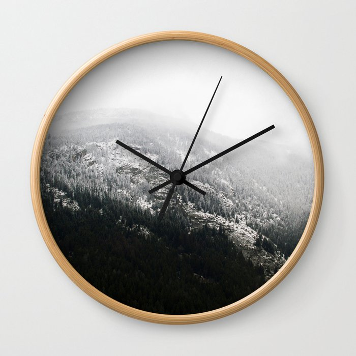 Swiss Alps - v1 Wall Clock