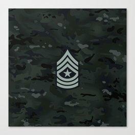 Sergeant Major (Urban Camo) Canvas Print