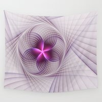 graphic design Wall Tapestries featuring Graphic Design by gabiw Art