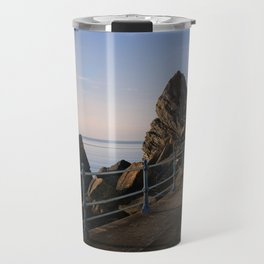 Meadfoot Beach Huts Travel Mug