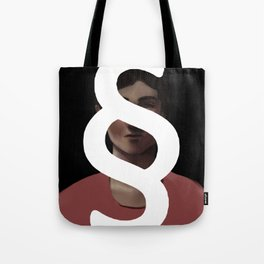 Behind the Paragraph Tote Bag