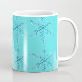 Winter/Christmas - Snow Crystals V.7 Coffee Mug