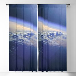Indian Ocean Seen From Space Blackout Curtain