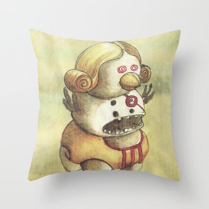 Pirataparuca Throw Pillow
