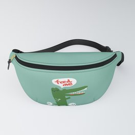 Hungry Hungry Alligator Fanny Pack