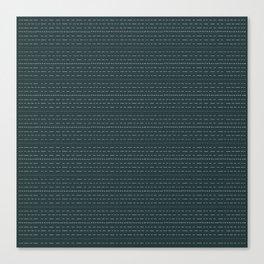 Coit Pattern 49 Canvas Print