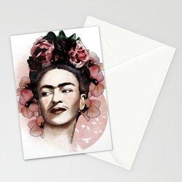Frida Kahlo illustration Stationery Cards