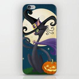 Halloween Night Magic iPhone Skin