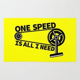 Single Speed Bike Rug