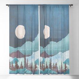 Moon Bay Sheer Curtain