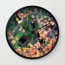Leaves GO 01 Wall Clock