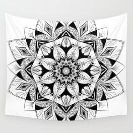 """Flower"" mandala Wall Tapestry"