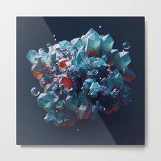 Crystalline Metal Print