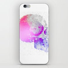 Low poly skull iPhone & iPod Skin