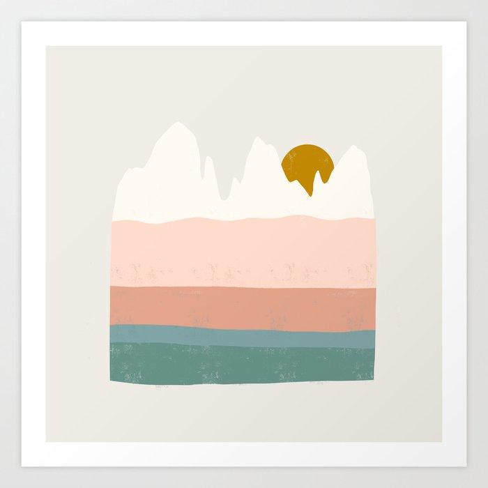 desert shades Art Print