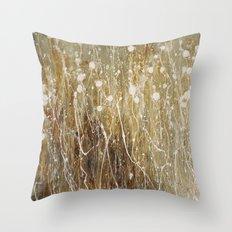 floral abstrakt Throw Pillow