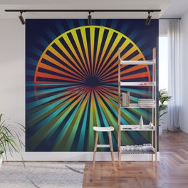 Sunset abstract 194 Wall Mural