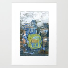 Mammal : Economy  Art Print