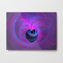Purple Heart Metal Print