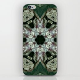 The Green Unsharp Mandala 6 iPhone Skin