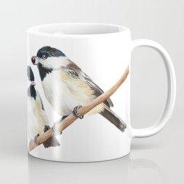 Black Capped Chickadees Coffee Mug