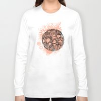 sunflowers Long Sleeve T-shirts featuring Sunflowers by Natalie Berman